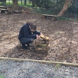 Working in the Nature Reserve