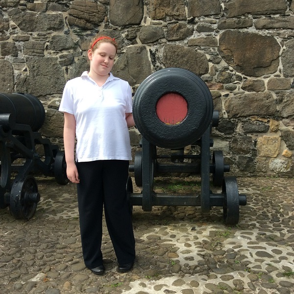 Picture of visit to Carrickfergus Castle