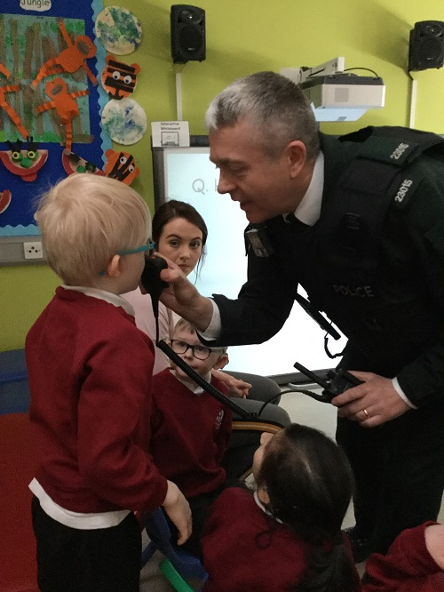 PSNI visit Primary Department