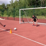 Pupils enjoying a TW Sports football session