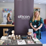 Picture of an exhibitor's stand