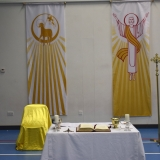 Picture of the communion table