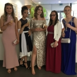 Picture of pupils in their formal dress in school
