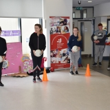 Picture of pupil training with the GAA