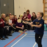 5Picture of a pupil using a hurling stick