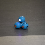 Picture of the Dash  robot that pupils programed and controlled from a iPad app