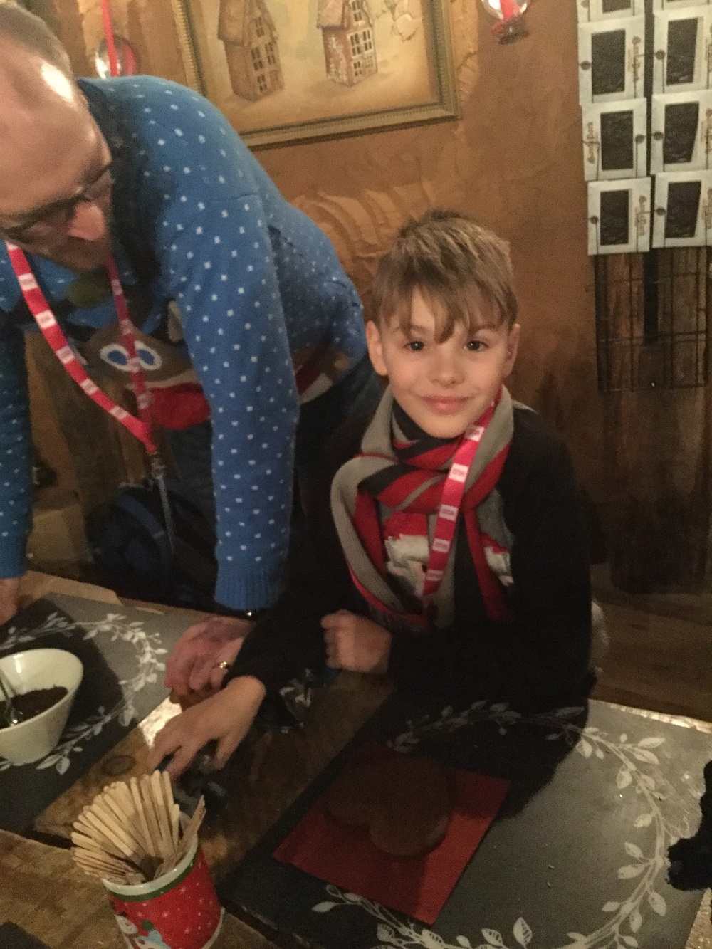 Pupil enjoys making crafts