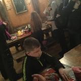 Pupils having something to eat