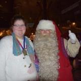 Pupil with Santa