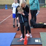 Picture of a pupil speed bouncing