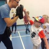 Jiu Jitsu workshop with pupils